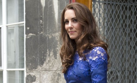 Kate Middleton in Blue