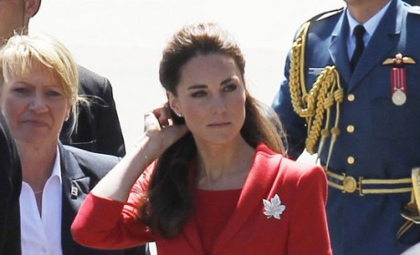 Kate Middleton, Red Dress