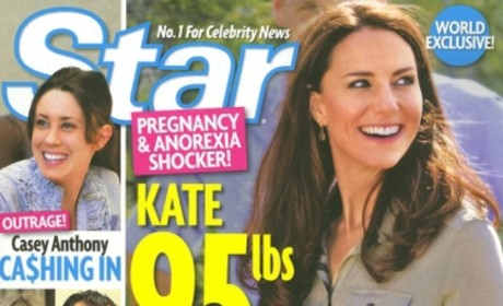 Kate Middleton Anorexic AND Pregnant, Tabloid Erroneously Reports