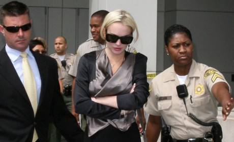 Judge to Lindsay Lohan: Get Your $h!t Together!!