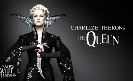 Charlize Theron as The Evil Queen