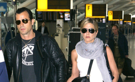 Jennifer Aniston & Justin Theroux: House Hunting?