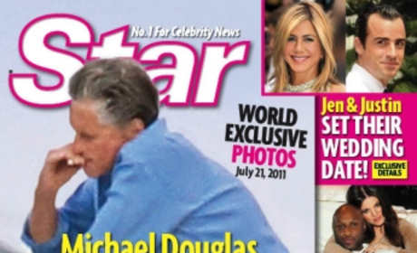 Michael Douglas: Smoking After Beating Throat Cancer?