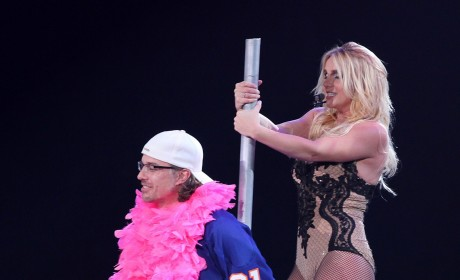 Britney Spears in Concert: Pole Dancing for Jason Trawick!