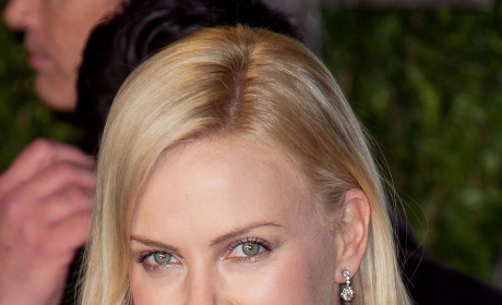 Charlize Theron at a Party