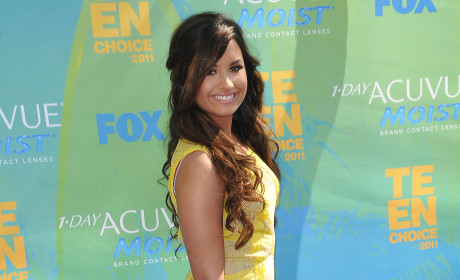Demi Lovato at the TCAs