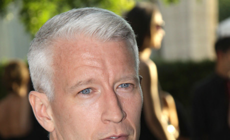 Anderson Cooper Takes Swipe at Chris Brown, Rom-Com Role