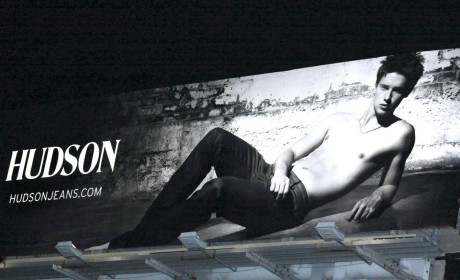 Patrick Schwarzenegger: The New Face (and Abs) of Hudson Jeans!