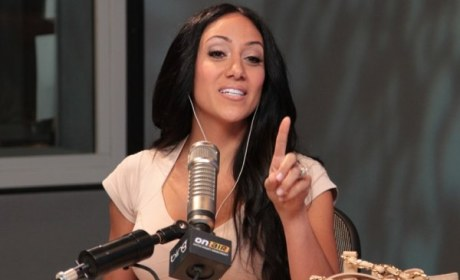 Melissa Gorga, On the Air with Ryan Secrest