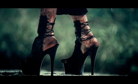 Lady Gaga's Feet: ALL Banged Up!