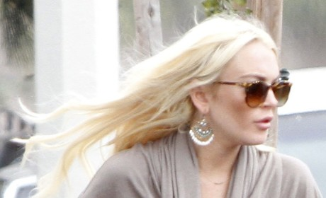 Lindsay Lohan: Taking Shots at Kim's Wedding?