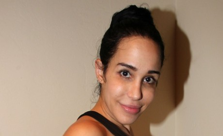 Nadya Suleman Shows Off Childbirth Scars