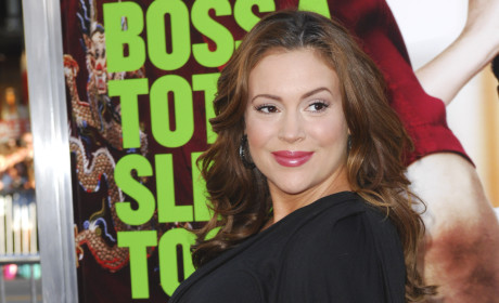 It's a Girl for Alyssa Milano!
