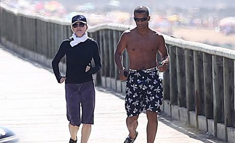 Madonna Takes Good Care of Brahim Zaibat