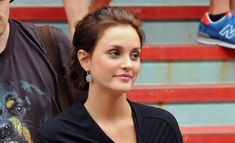Leighton Meester on Mom's Lawsuit: Get Outta Town!