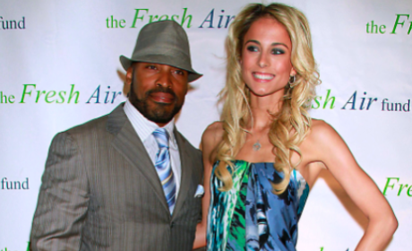 Tiki Barber Has Affair with Traci Lynn Johnson, Dumps Pregnant Wife Ginny Barber