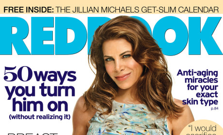 Jillian Michaels Redbook Cover