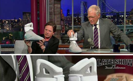 Michael J. Fox Raises Money for Parkinson's by Partying with ... Axl Rose?