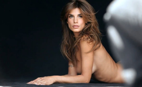 Elisabetta Canalis Naked for PETA