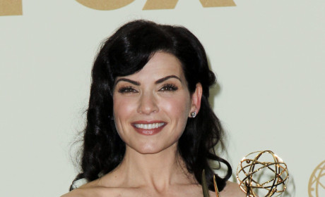 Julianna Margulies at the Emmys