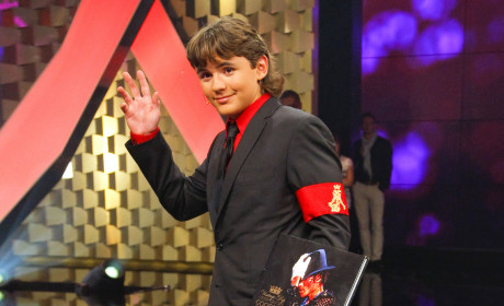 Prince Michael Jackson Makes Like Dad