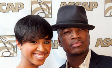 Ne-Yo and Monyetta Shaw Pic