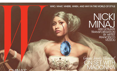 Nicki Minaj Goes Old School on W Magazine Cover