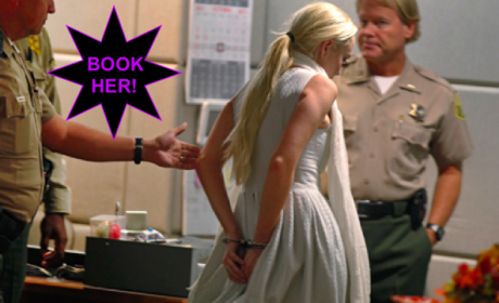 Lindsay Lohan: Handcuffed in Court, Jailed For Probation Violation!