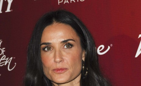 "Demi Moore Hospitalized For Substance Abuse; In Treatment For Exhaustion, ""Overall Health"""