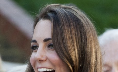 Kate Middleton Hosts First Solo Royal Event