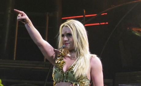 Britney Bikini Concert Pic