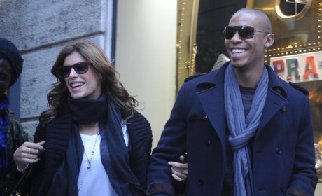 Elisabetta Canalis and Mehcad Brooks: New Couple Alert!
