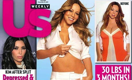Mariah Carey Weight Loss Pic
