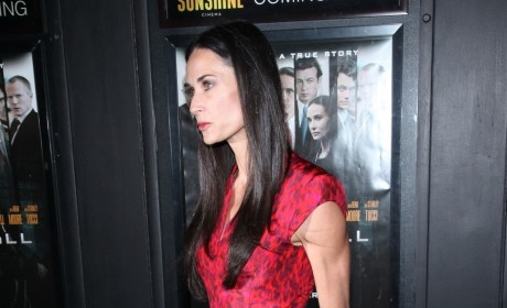 Demi Moore Described as Skinny, But Happy
