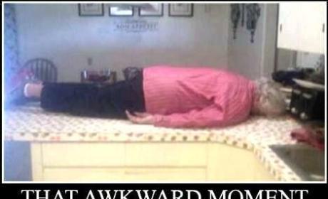 Grandma Planking