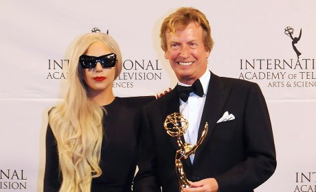 Lady Gaga Presents at International Emmys