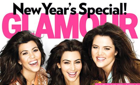 Kim Kardashian to Glamour: WAHHHHH!