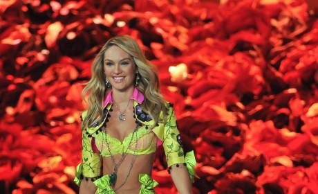 Candice Swanepoel at the Victoria's Secret Fashion Show