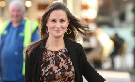 Pippa Middleton Smiling