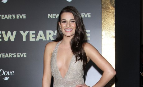 Lea Michele at New Year's Eve Premiere