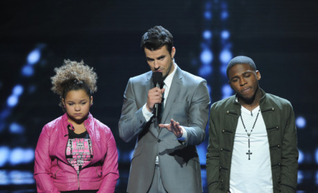 X Factor Results Pic