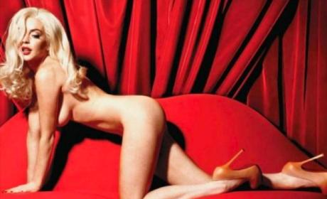 Lindsay Lohan Playboy Photo