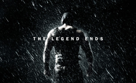 The Dark Knight Rises Poster: The Legend Ends?