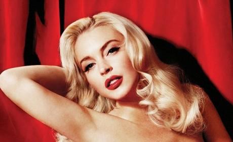 A Lindsay Lohan Playboy Photo