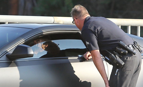Justin Bieber Pulled Over for Driving Mishap... Again!