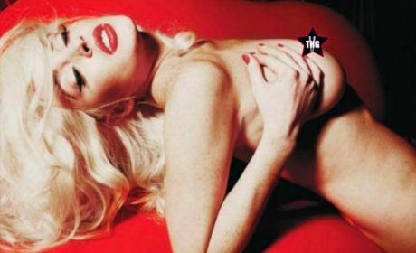 Lindsay Lohan Topless in Playboy