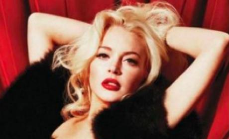 Lindsay Lohan Nude Playboy Photo