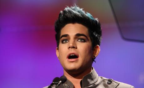 Stunned Adam Lambert