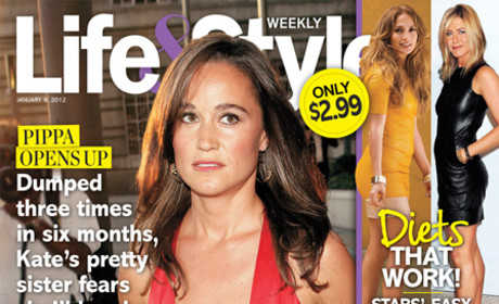 "Pippa Middleton ""Undateable,"" According to Tabloid"