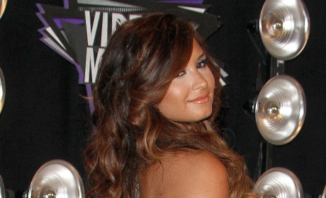 Demi Lovato Sparkles